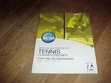2007 NCAA Division I Tennis Championship Program 1st and 2nd Round