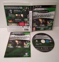 SPLINTER CELL Trilogy Classics HD - Jeu PS3  -Pal français -Complet -Comme neuf