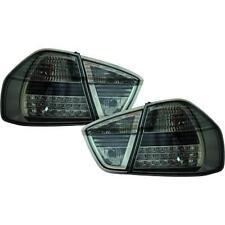 Par de faros luces traseras TUNING BMW Serie 3 E90 2005-2008 LED negro sedán