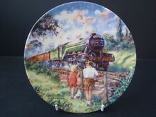 BRADEX THE FLYING SCOTSMAN GOLDEN AGE OF STEAM TRAIN PLATE