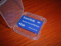 2GB Memory Stick PRO Duo for Sony Cyber-shot DSC-T70