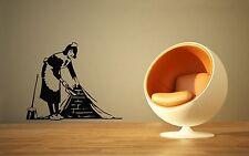 Wall Stickers Vinyl Decal Housekeeper Joke Modern Style ig1347