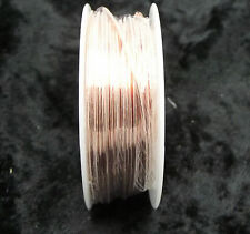 SOLID COPPER WIRE 4 oz Roll 20 AWG Stained Glass Supply Arcor Easy to Solder