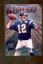 1995 SC STAN HUMPHRIES GREG LLOYD Pittsburgh Steelers Chargers NEMESES Card