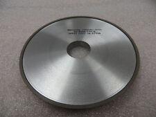 "6"" x 15/32"" x 32 mm 4A2P Diamond Facing Grinding Wheel 180 Grit 100 Con. New"
