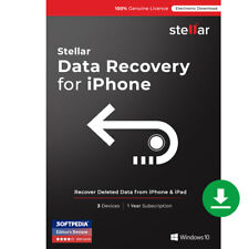 Stellar Data Recovery for iPhone Software|Windows|Standard|Download