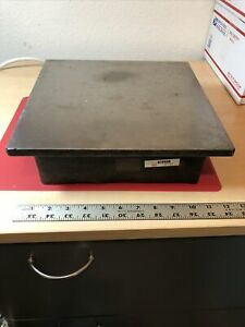 Cast Iron Surface Plate -12 X 12 Inch - Inspection Plate