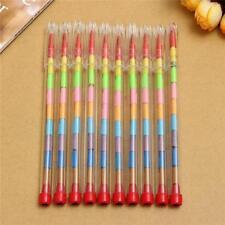 12 X Multicoloured Smiley Face School Reward Pencils For Children Kids Pupils