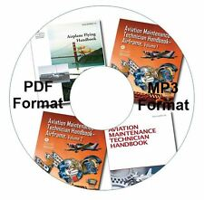 FAA Airplane Flying, Aviation Maintenance Technician Airframe I, II, PDFs & MP3s