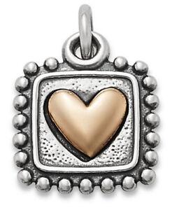 James Avery Radiant Heart Charm,New