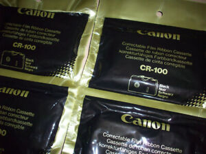 Canon CR-100 Correctable Typewriter Film Ribbon Cassette Typestar Starwriter OEM