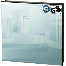 Chauffage infrarouge panneau miroir électrique 450 watt radiant radiateur IP44