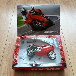 New Ray Toys Ducati Superbike model kit Motorcycle motorbike Red 1:12 Scale