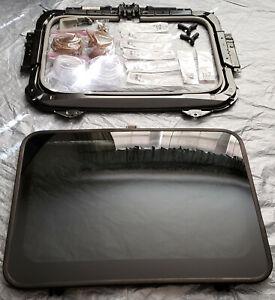 2003-11 Honda Element OEM Rear Sun Moon Roof Glass Panel Complete Conversion Kit