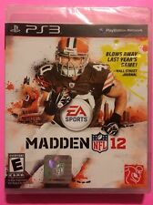 Madden NFL 12 (Sony PlayStation 3, 2011) Brand New in Orginal Packaging FREE S/H