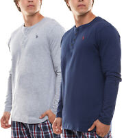 U.S. POLO ASSN. Sommer-Pullover Sweatshirt Henley Herren-Sweater