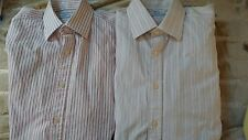 Lot of 2 Charles Tyrwhitt Men Dress Shirt Size 15.5/37 Striped Ships quickly