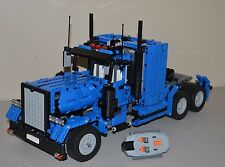 NEW LEGO TECHNIC BLUE & BLACK 8285 CUSTOM TRUCK w/Power Functions 8882/8883/8884