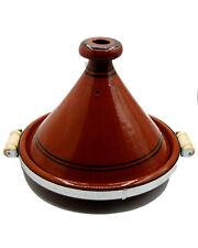 Tajine Tagine Pentola Terracotta Piatto Marocchino Diam.35cm  Manici 1806191000