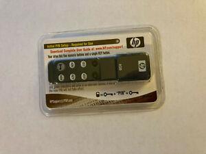 HP 8gb USB Stick Thumb Drive with pin key - NEW SEALED