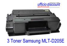 3 Toner Samsung Laser Compatibile MLT-D205E ELS 10000 copie