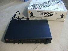 ADCOM GFP-565 stereo component, preamplifier