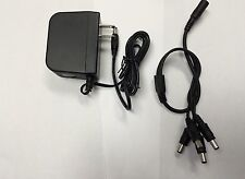 Dc 12V 2A Power Supply Adapter +4 Split Power Cable for Cctv Security Camera Dvr