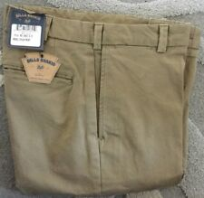 NWT-Bills khakis M2-DKST Size 37 PLAIN STANDARD Dark Khaki STRETCH CLOTH $165
