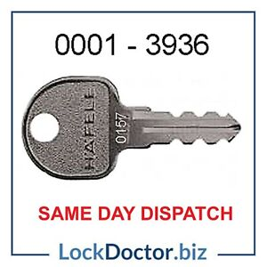 HAFELE Office Furniture Keys 0001 to 3936 Cut to Code FREE 48HR TRACKED DELIVERY