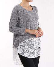 Fashion Womens Casual Knit Cardigans Tops Ladies Knitwear Coat Jacket S/M