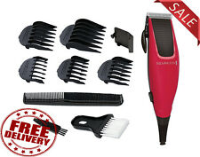 Mens Hair Clipper Trimmer Cutter Beard Head Shaver Machine Grooming Cutting Kit