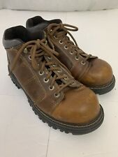 GBX Brown Leather Workboots 10.5M Mens