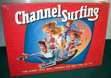 1994 CHANNEL SURFING TV Scavenger Hunt Game - Milton Bradley - Sealed Box!