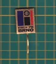 invex 1976 Brno Czech Republic - stick pin badge