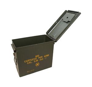 Italian Military Ammo Box, Tall .50 Cal. Can