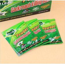 GreenLeaf Powder Cockroach Killing Bait Roach Insect Killer 3 Pack 3G