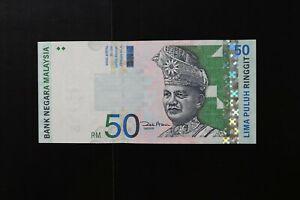 Malaysia p-43d 2001 no date  $50 note cu-UNC JB7860382 2017 cv$25.00 (v471)
