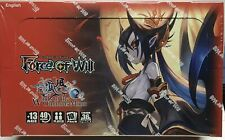 FORCE OF WILL Winds of the Ominous Moon: Booster Box New Sealed Product FOW