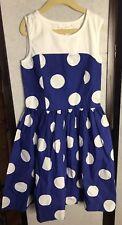 Girls Polka dots dress size 10