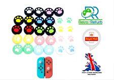 X2 Nintendo Switch / Lite Joy Con Paw Animal Crossing Thumb Grips Joystick Caps