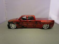 JADA 1/24 BIGTIME KUSTOMS CANDY RED 1999 CHEVY SILVERADO DOOLEY USED NO BOX