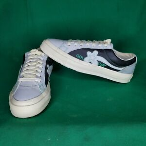 Converse x Golf Le Fleur OX One Star Industrial Pack Grey Size 11 US 164023C