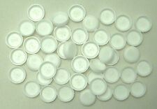 25 Universal White Sailboat or Boat Snap Cover Caps  Improve Appearance