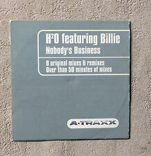 "CD AUDIO/ H20 FEAT. BILLIE ""NOBODY'S BUSINESS"" CD MAXI-SINGLE 8 TRACKS ELECTRO"