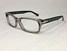 PERSOL 2894-V 823 Sunglasses Frame Italy Mens 51-16-140 Crystal/Light Green IE80