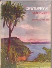 the geographical magazine-DEC 1936-LAKE WAIKAREMOANA,NEW ZEALAND.