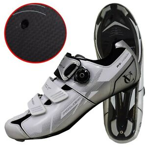 VCX Pro Carbon Cycling Road Shoes Lightweight Bike Gear  (yellow or silver)