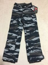 New Youth Boy Under Armour Sz YXS 6 6X  Camo ColdGear Insulation Gray Pant $98