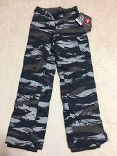 New Youth Boy Under Armour Sz YXS 6 6X Camo Cold Gear Insulation Gray Pant $99