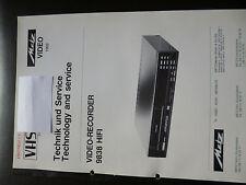 Original Service Manual  Metz Video Recorder 9838 HIFI